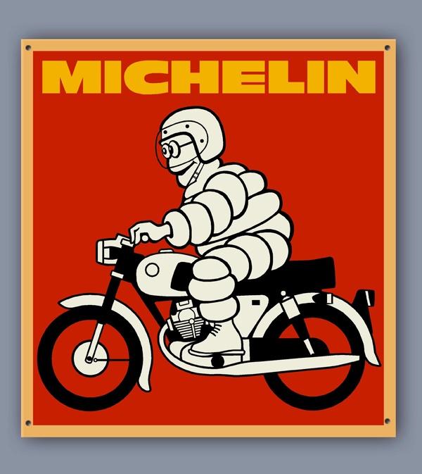 Michelin moto. By Alex Vidal