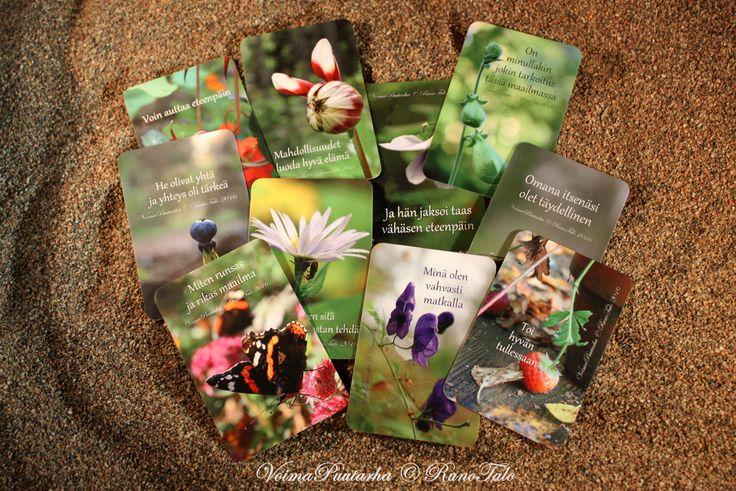 Voimakorttipakka Huominen – Runotalon voimakorttikauppa