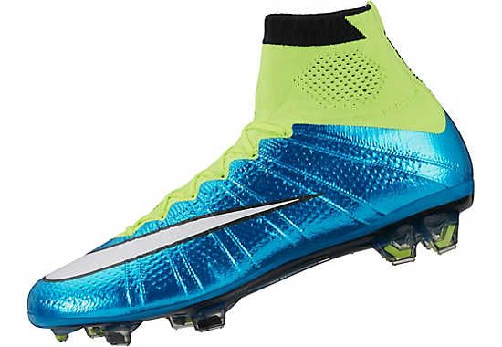 At www.soccerpro.com now! Nike Womens Mercurial  Superfly FG Soccer Cleats - Blue Lagoon