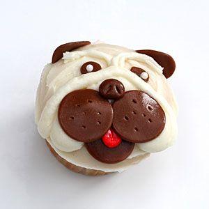 How to Make Pug Cupcakes | Video: Pug Pupcakes | MyRecipes.com