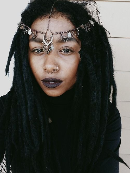 nostril + septum piercings