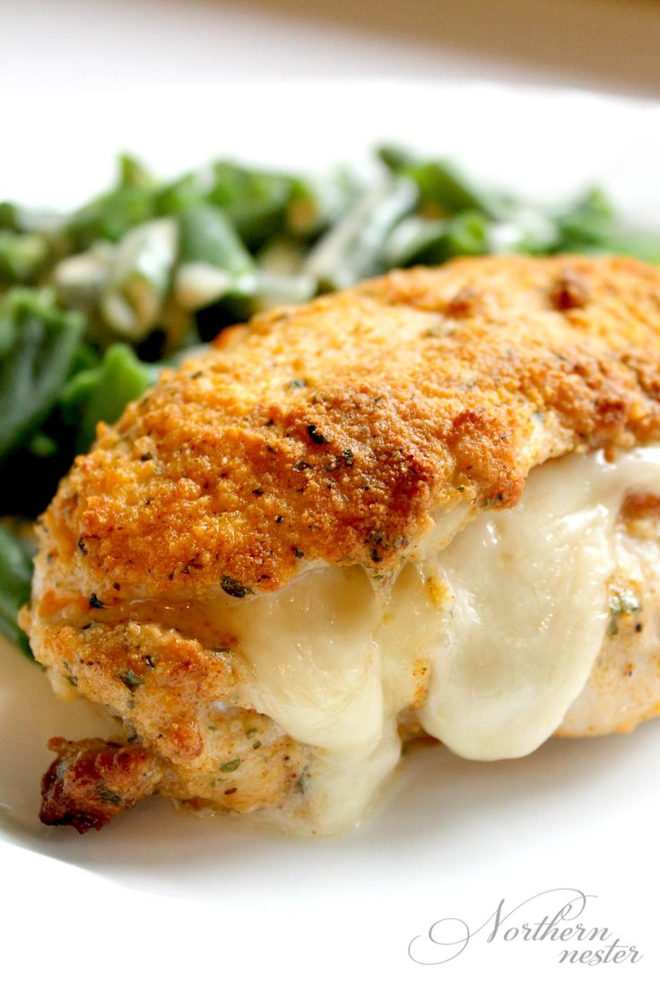 This low-carb Chicken Cordon Bleu looks impressive, but is incredibly easy to make! Dijon Cream Sauce brings vegetables to the next level. A great THM S.