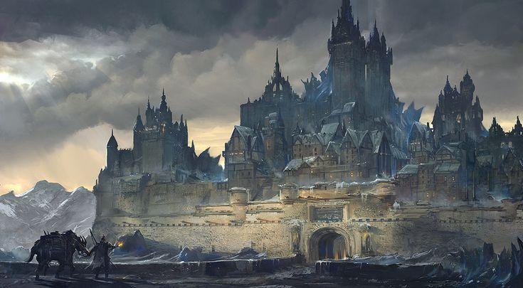 dungeoncrawlersltd:  Frozen Hometown by flaviobolla