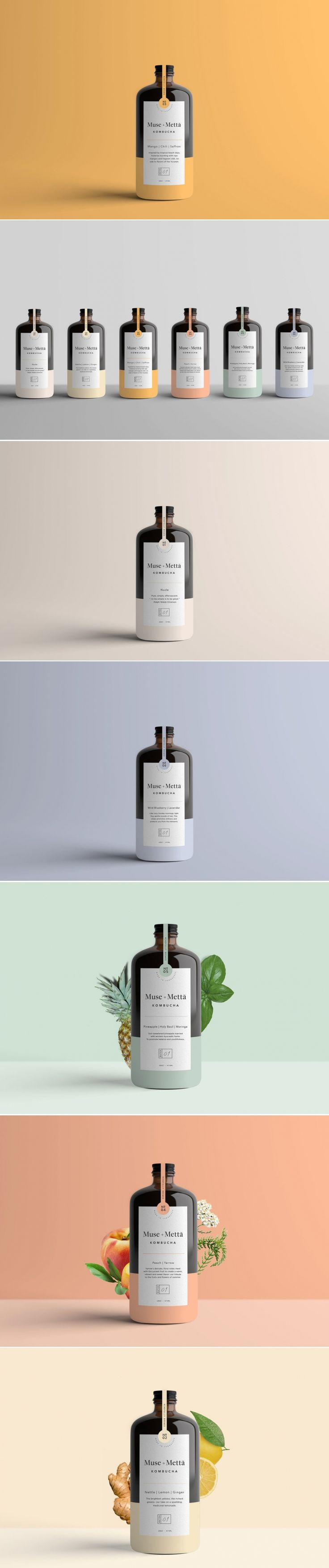 Muse + Metta Is Serving Up Flavor With Beautiful Minimalistic Packaging — The Dieline | Packaging & Branding Design & Innovation News