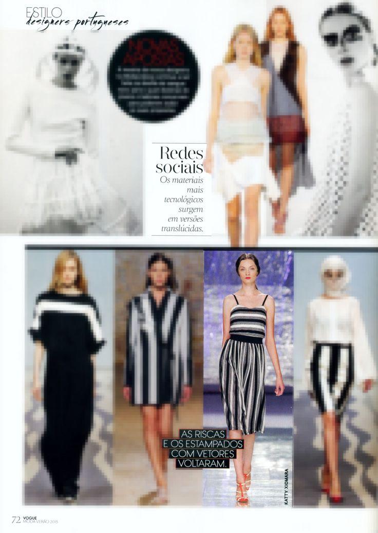 In Vogue magazine