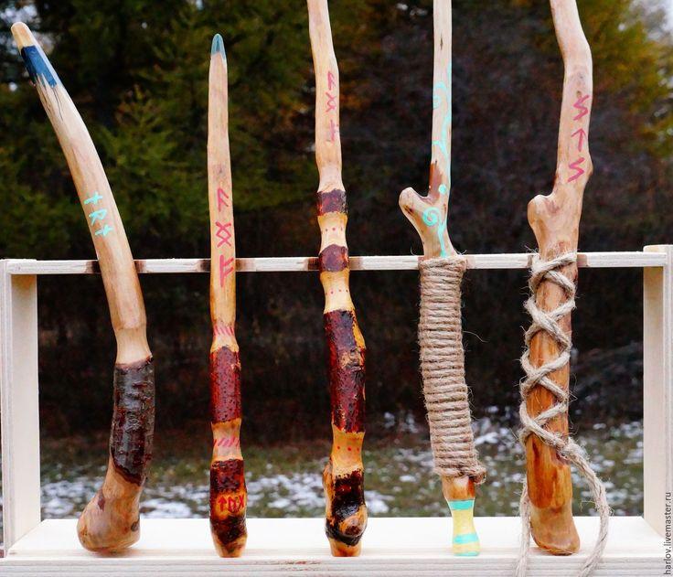 Купить Волшебная палочка - коричневый, дерево, магия, волшебная палочка, аксессуары, Гарри Поттер, Гермиона