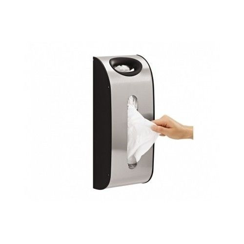 Bag Wall Mount Grocery Dispenser Stainless Steel Simplehuman Holder Storage New