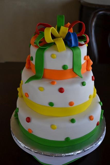 Skittles Lover Birthday Cake