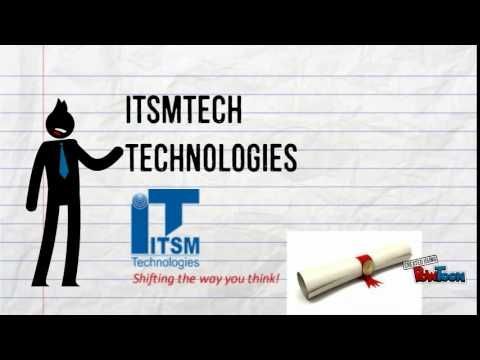 ITIL, formerly known as the Information Technology Infrastructure Library, is a set of practices for IT service management (ITSM).Itsmtech Technologies Provide itil Certification in Delhi