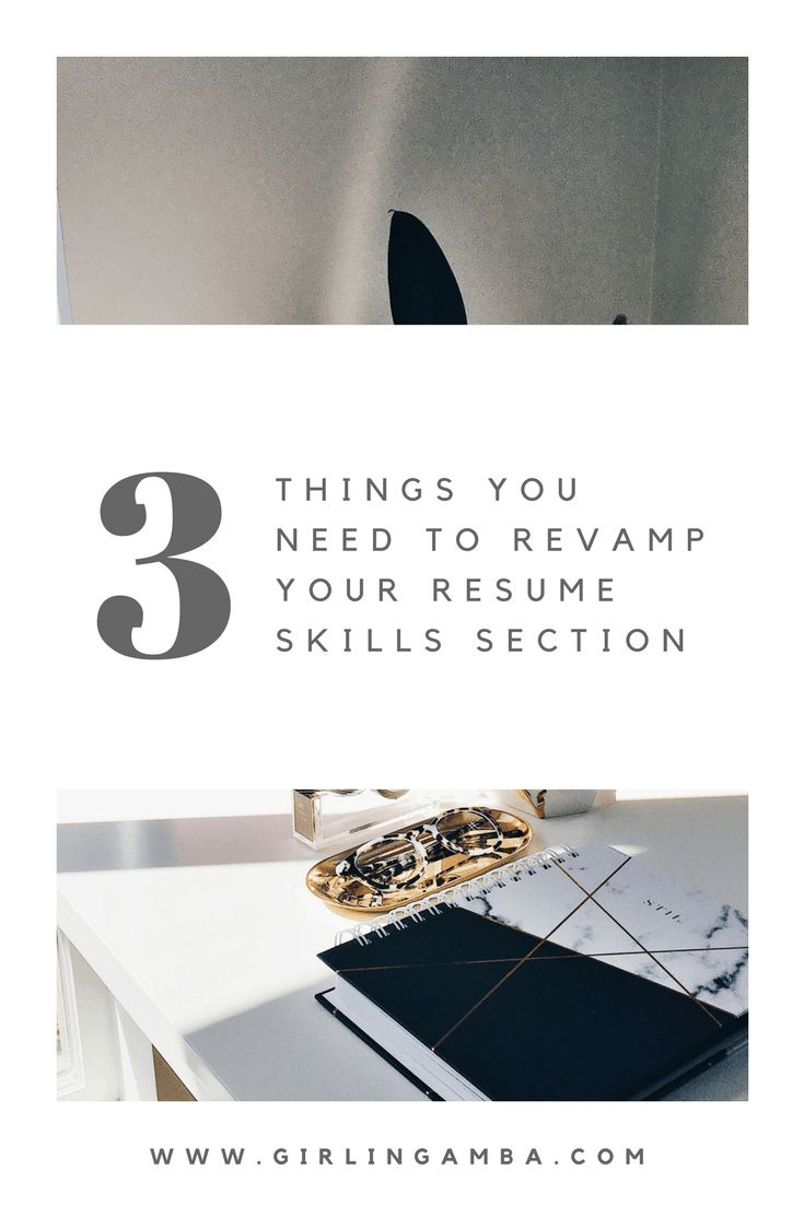 Revamp Your Resume Tips For Resume Skills