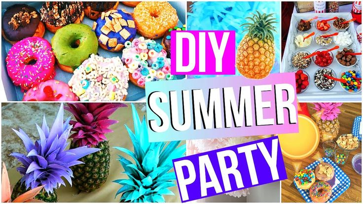 DIY Summer Party! DIY Summer Party Ideas! DIY Tumblr Party! DIY Summer Party Decorations! DIY Party Ideas! DIY Party Decorations!
