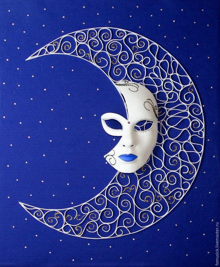 Создаем декоративное панно «Ажурная ночь» - Ярмарка Мастеров - ручная работа, handmade