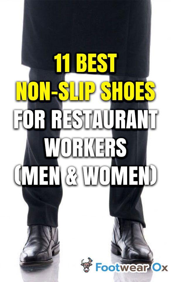 best men's non slip restaurant shoes