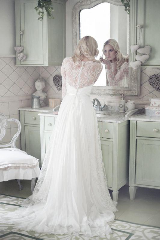 Robe de Mariée : Fabienne Alagama 2014, mariée, bride, mariage, wedding, robe mariée, wedding dress, white, blanc
