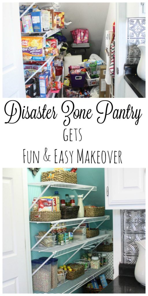 This pantry was one of the worse ones I had ever seen. NOTHING had any rhyme or reason, but after following some simple instructions and organizational techniques from a pro, this went from disaster to wow!