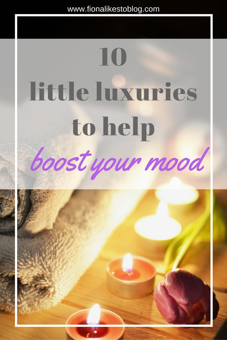 little luxuries to cheer up boot your mood depression anxiety