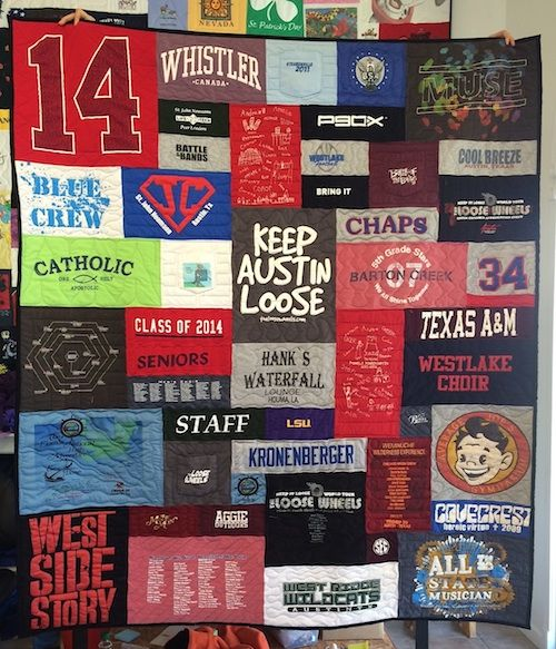 T Shirt Quilt Tulsa