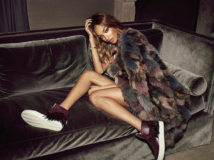 Jourdan Dunn stars in Buscemi's holiday 2015 lookbook