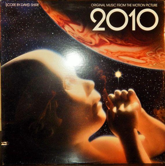 "2010  12"" Vinyl Lp Original Soundtrack (1984, David Shire music, Andy Summers) Helen Mirren, John Lithgow, Keir Dullea, Bob Balaban"