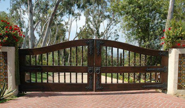 gated driveway - Google Search