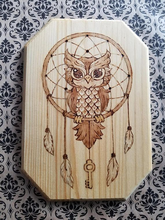 Hey, I found this really awesome Etsy listing at https://www.etsy.com/listing/545420129/owl-and-key-in-dream-catcher-wood-wall