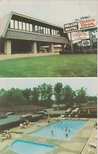 Deluxe Motel, Terrace Room Restaurant, Swimming Pool in Mentor, Ohio on U.S. 20