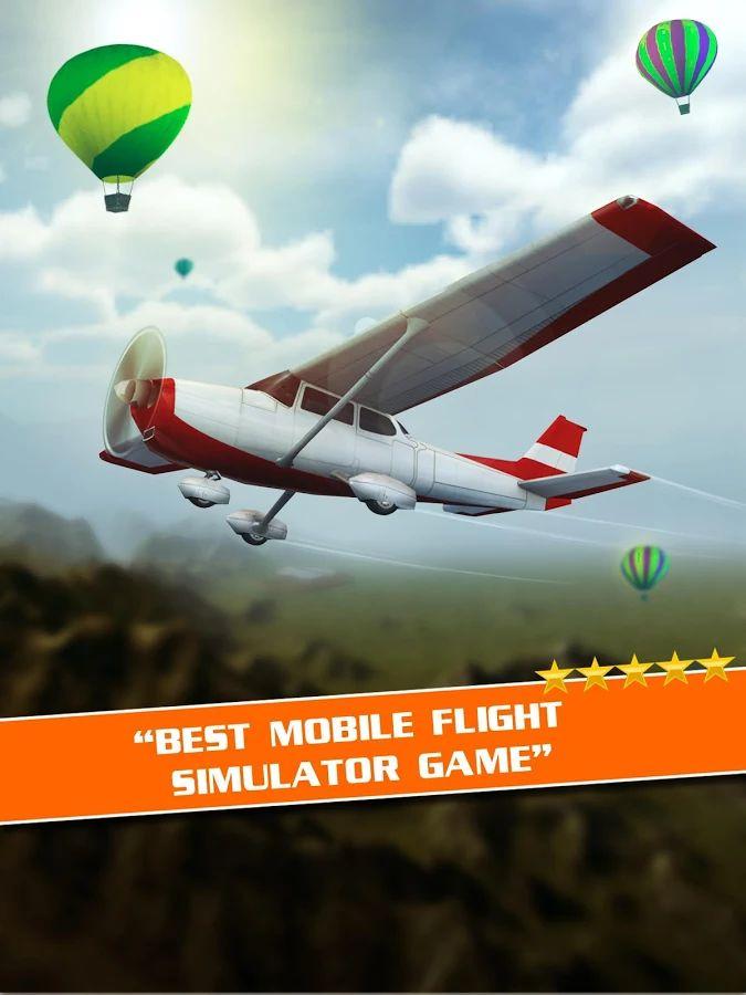 Flugpilot-Simulator 3D Gratis – Screenshot