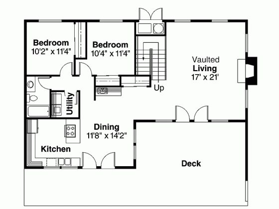 Shed House Plan With 1849 Square Feet And 3 Bedrooms From
