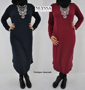 prêt-à-porter femme musulmane vêtement femme musulmane abaya robe longue mode femme arabe musulman hijab jilbab mastour - Neyssa Boutique