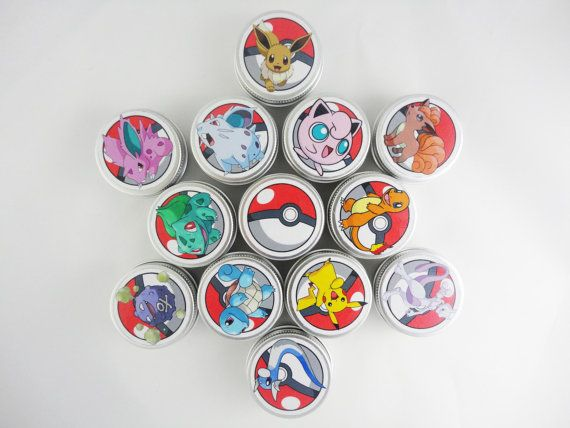 DESCRIPTION: a wonderful little gift for all Pokemon fans! Protect and moisturise your lips during cold and windy months with this amazing organic lip balm. It mixes the energising and refreshing power of peppermint oil with the moisturising and healing properties of cocoa butter, almond oil, and vitamin E. DETAILS: This listing is for one 15g aluminium tin of Pokemon Organic Peppermint Lip Balm.  It is 100% made with carefully selected natural and organic ingredients. It is PARABENS FREE…