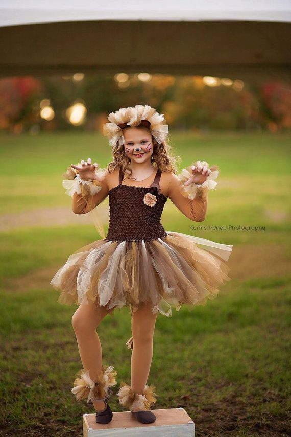 Lion costume lion tutu girls dress up girls by DivazByDesign