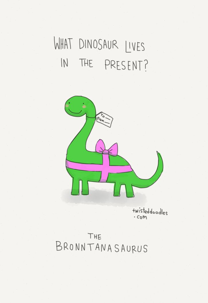 Twisted Doodles • The finest irish language dinosaur pun you'll see...