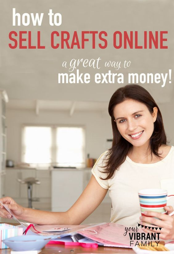 How to see crafts online! Selling your handmade crafts online is a great way to make extra money to help your family while you work from home. Design your own DIY project and create a home based business.