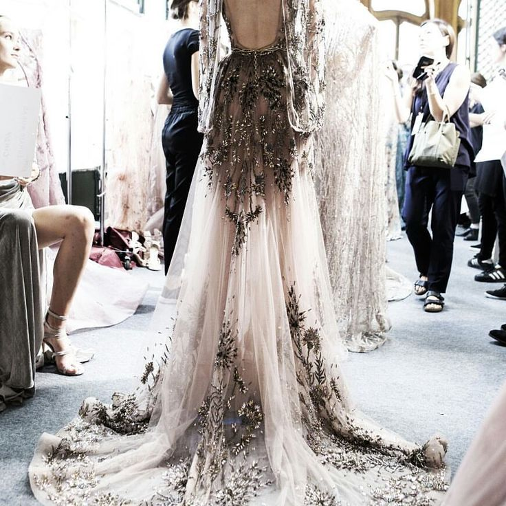 """75 Likes, 3 Comments - Runway & Beauty (@runwayandbeautyblog) on Instagram: """"@zuhairmuradofficial Fall 2017/18 Couture Backstage. #fashion #model #backstage #zuhairmurad…"""""""