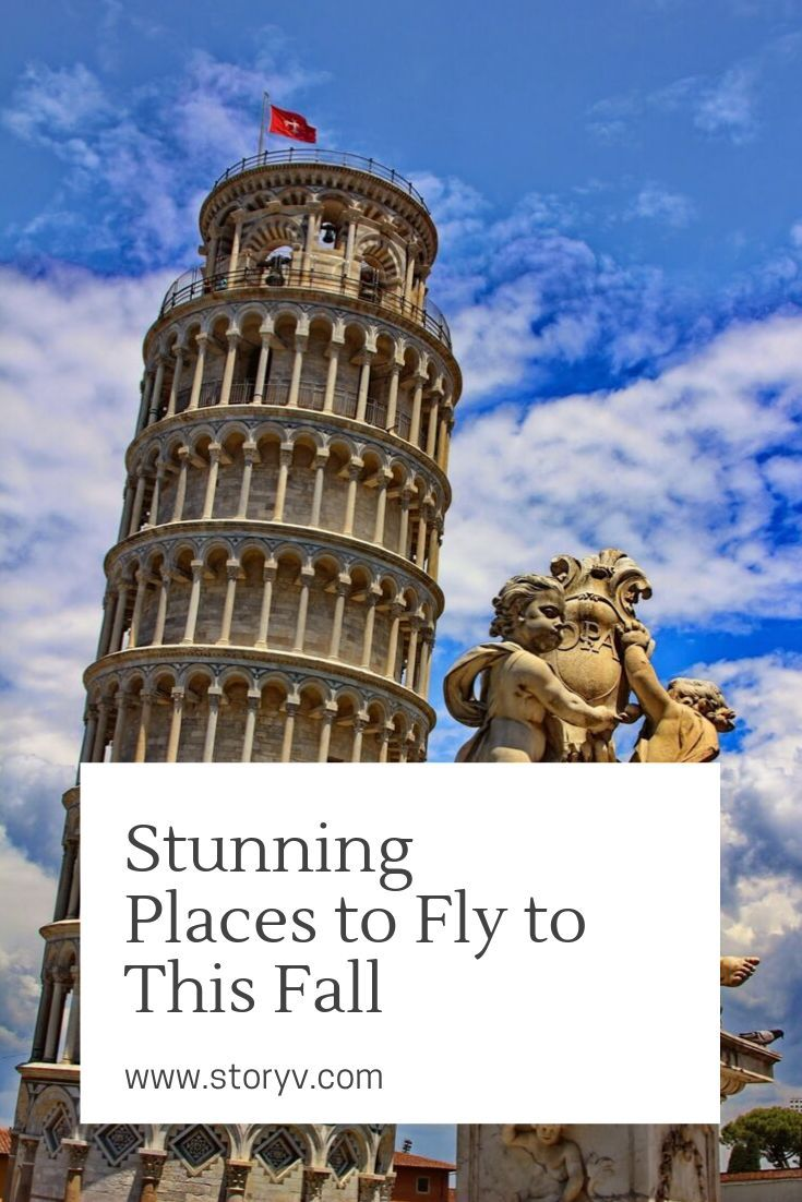 Stunning Places to Fly to This Fall