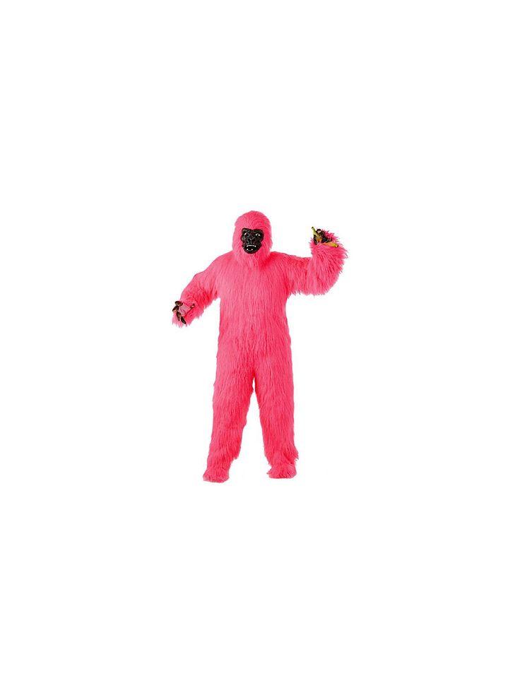 Pink Gorilla Suit Adult