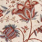 Article featuring 18th century printed textiles