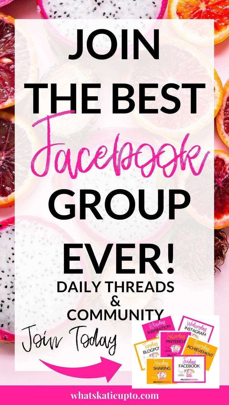 Join our Bloggy Badass Facebook Group TODAY for FREE! Increase your
