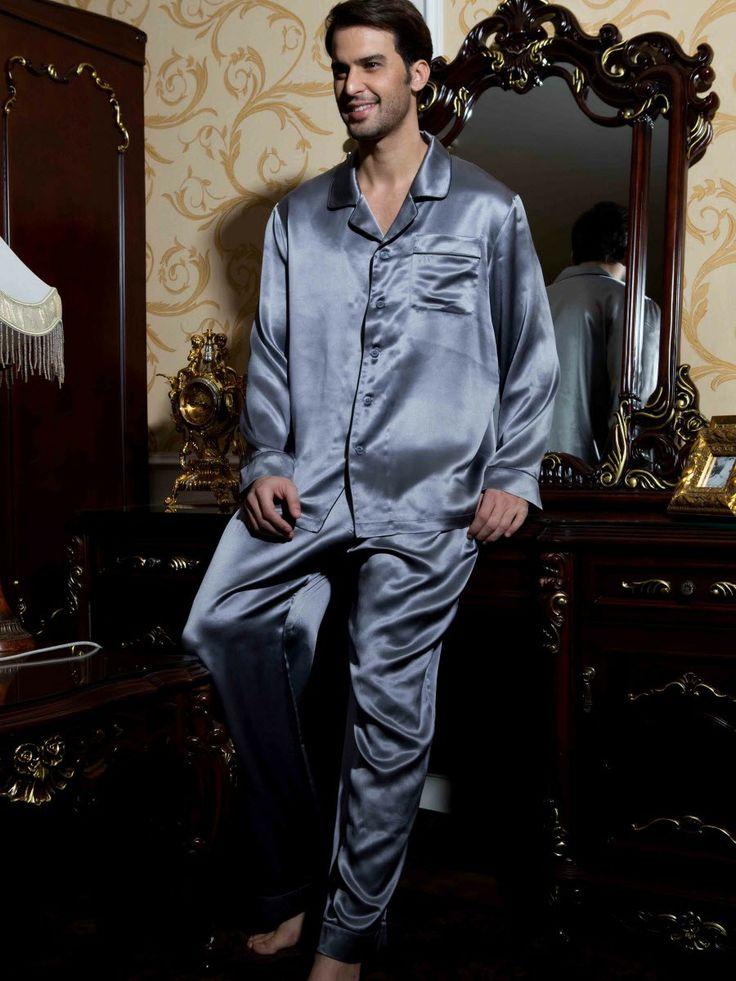 25  best ideas about Mens silk pajamas on Pinterest | Pajama shirt ...