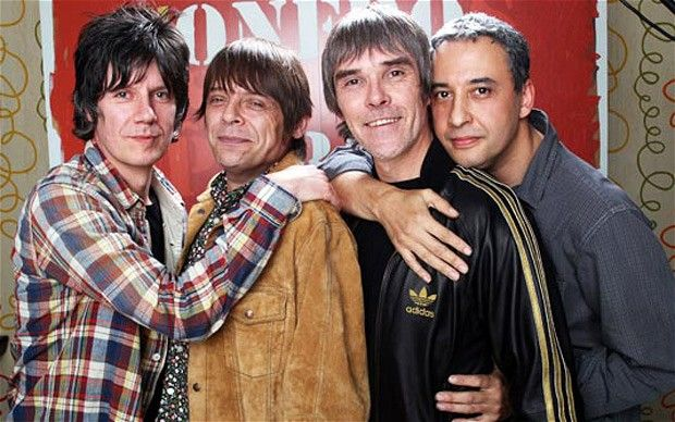 The reformed Stone Roses.