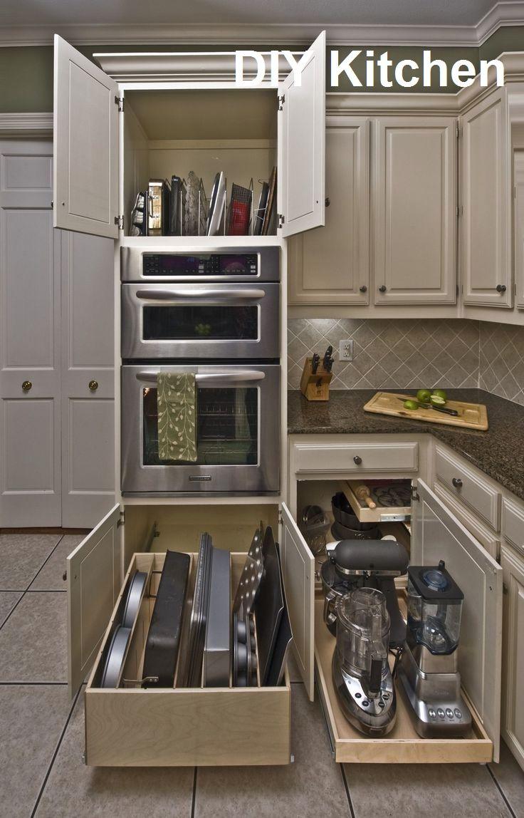 9 Cabinet Storage & Organization Ideas For New…   Kitchen ...