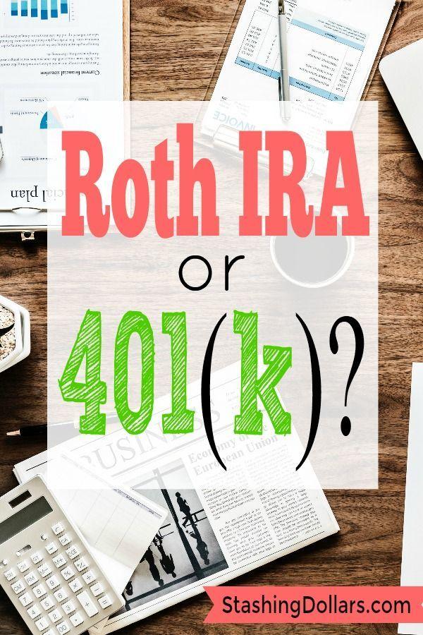 Roth Ira Vs 401 K Roth Ira Calculator Stashing Dollars Roth Ira Roth Ira Calculator Ira