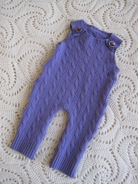 hmmm, could i make this for ada. such a smart idea for a thrift sweater.