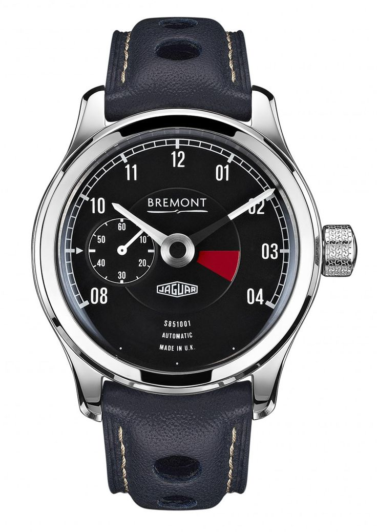 Bremont Lightweight E-Type Chronometer In Collaboration With Jaguar ....