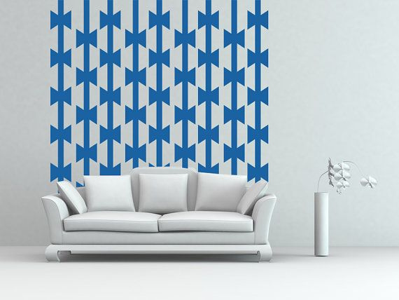 Wall Decal Geometric Line Tomahawk Axe Native by WallStarGraphics, $150.00