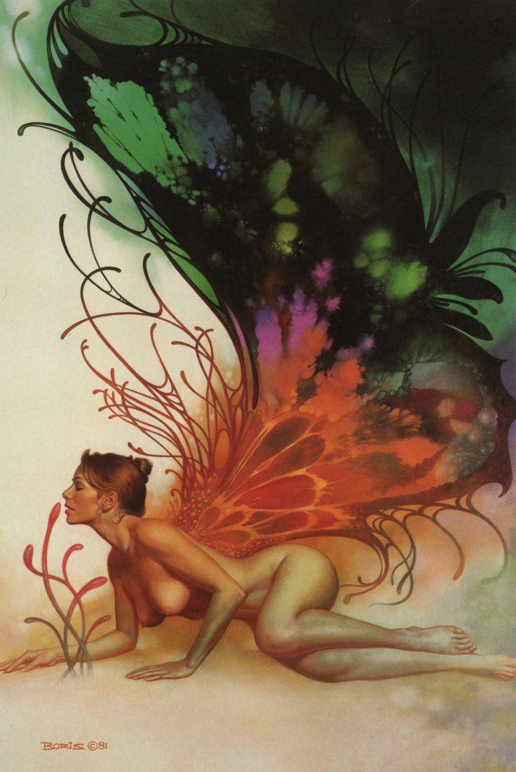 Artwork by Boris Vallejo