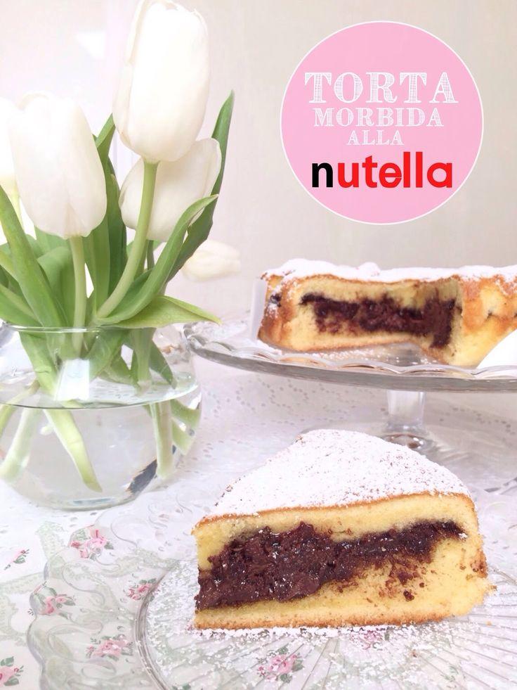 Sprinkles Dress: Torta morbida alla Nutella