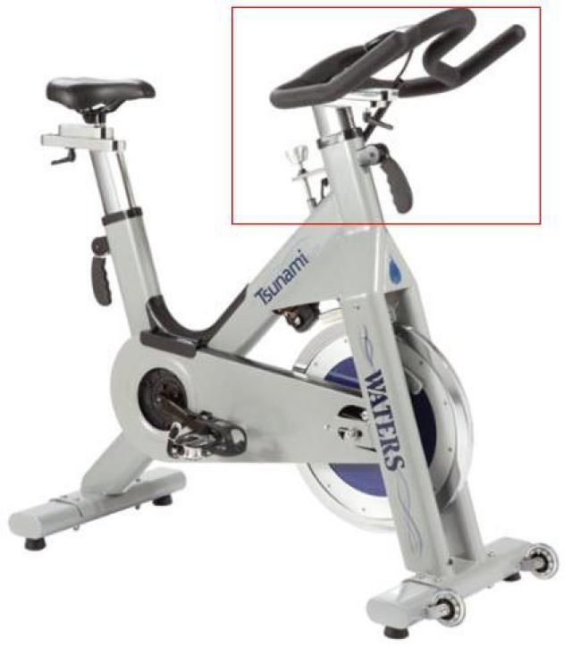 What to Look For in a Stationary Indoor Spinning Bike for Use at Home: Make Sure Handlebars Have a Fore and Aft Setting