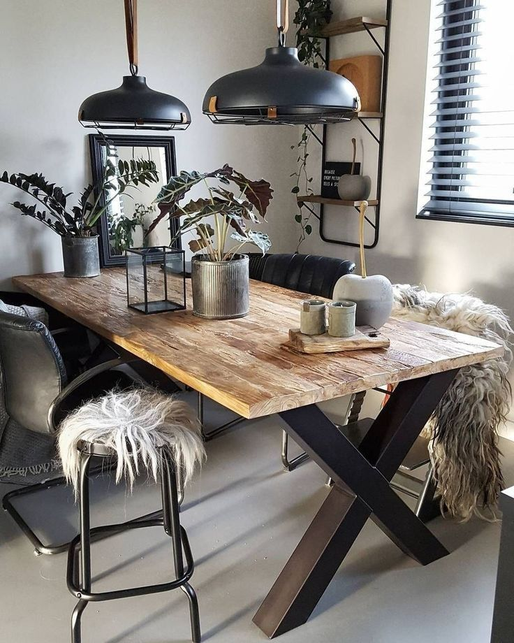 12 Rustic Dining Room Ideas: Luxury Rustic Farmhouse Dining Room Makeover Design Ideas