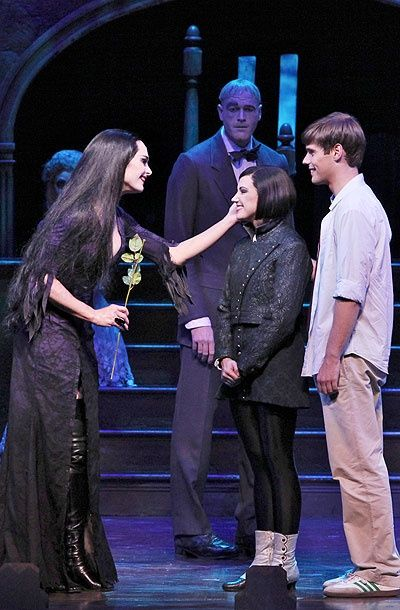 Photo 6 of 12 | Brooke Shields as Morticia Addams and the cast of The Addams Family. | The Addams Family: Show Photos with Brooke Shields | Broadway.com